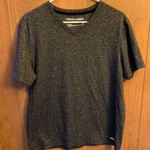 Men's XL Tony Hawk Marble Black S/S T-shirt
